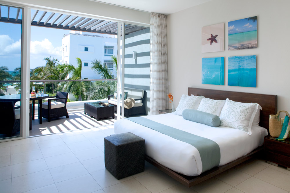 Deluxe Ocean and Pool View Studio Room at Gansevoort Turks and Caicos, Providenciales, Turks & Caicos Islands
