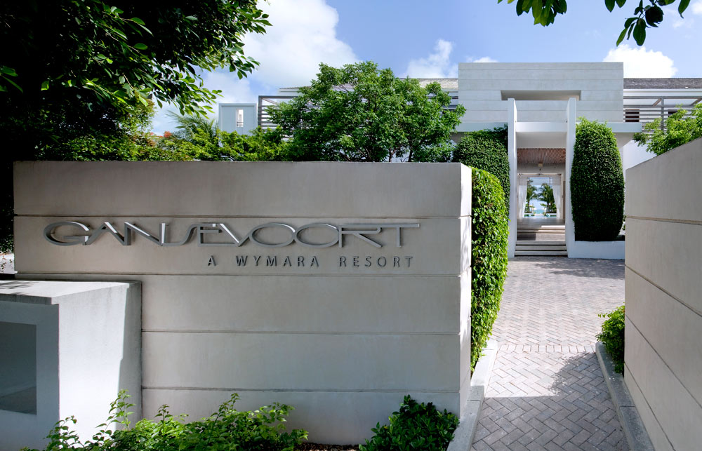 Hotel Entrance to Gansevoort Turks and CaicosProvidencialesTurks & Caicos Islands