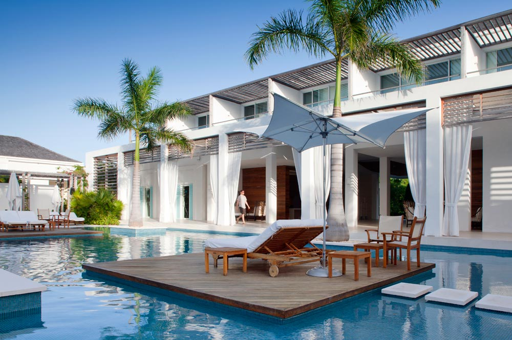 Private Oasis on a Pool Pod at Gansevoort Turks and Caicos, Providenciales, Turks & Caicos Islands