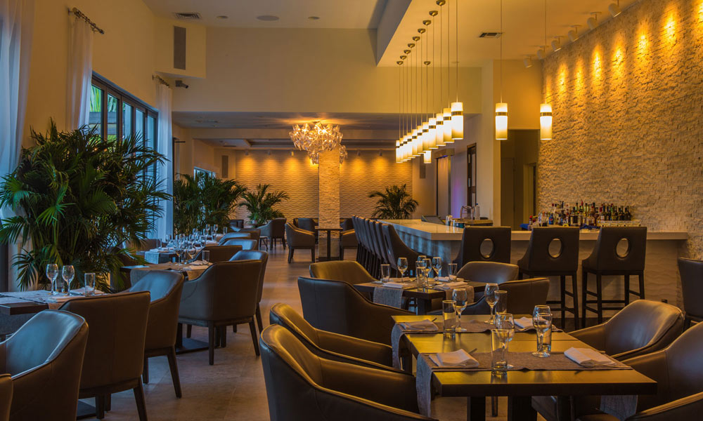 Stelle Restaurant at Gansevoort Turks and Caicos, Providenciales, Turks & Caicos Islands