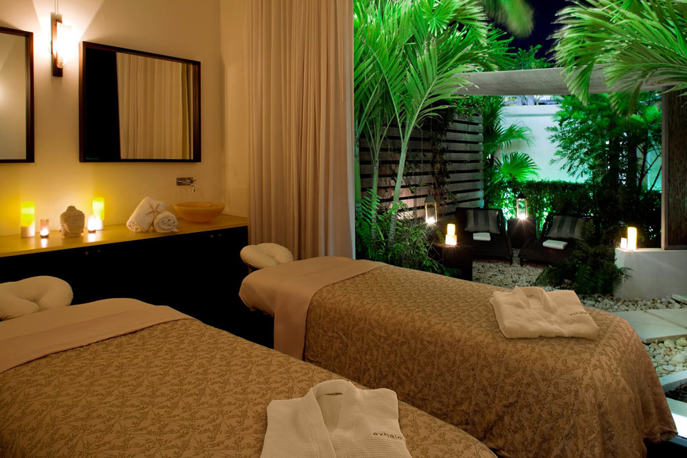 Exhale Spa Treatment Room at Gansevoort Turks and Caicos, Providenciales, Turks & Caicos Islands