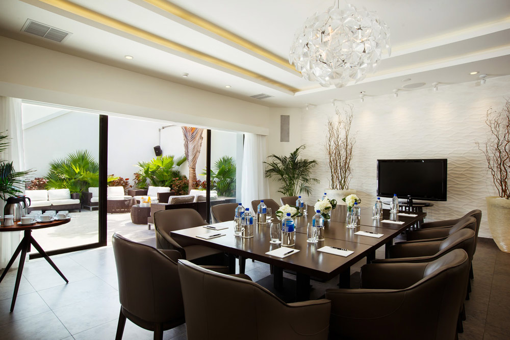 Lounge Meeting Space at Gansevoort Turks and Caicos, Providenciales, Turks & Caicos Islands