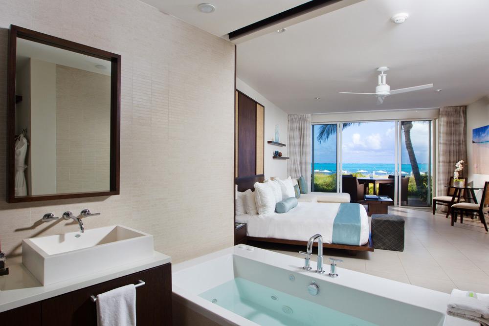 Luxury Ocean Front Spa Studio Room at Gansevoort Turks and Caicos, Providenciales, Turks & Caicos Islands
