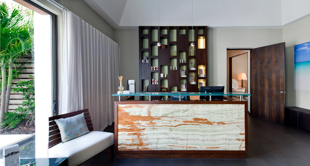 Exhale Spa Reception at Gansevoort Turks and Caicos, Providenciales, Turks & Caicos Islands