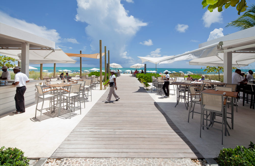 Beach Bar and Grill at Gansevoort Turks and Caicos, Providenciales, Turks & Caicos Islands