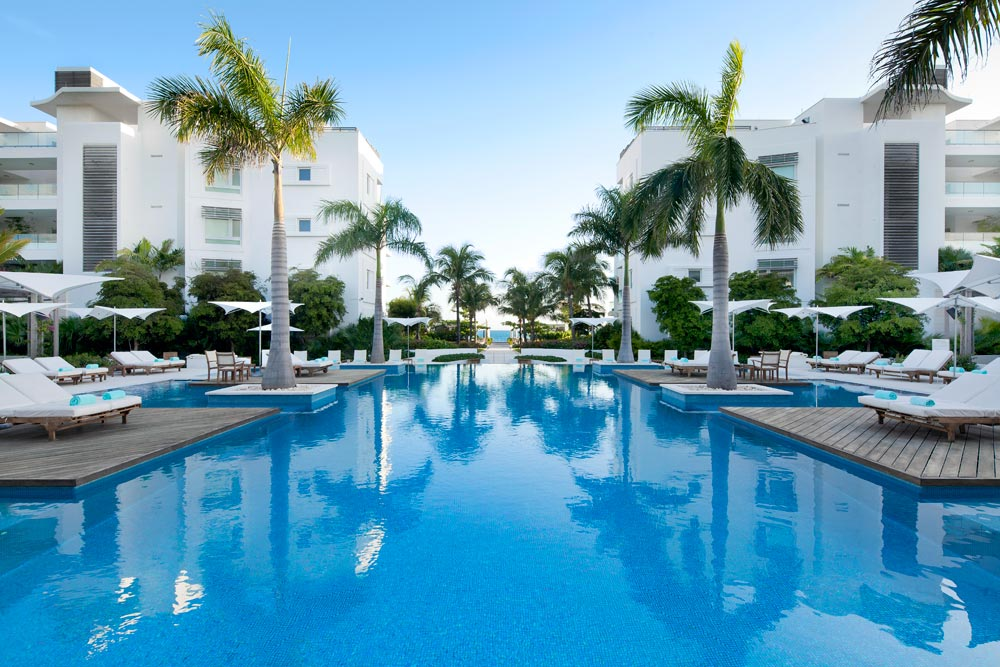 Infinity Pool at Gansevoort Turks and Caicos, Providenciales, Turks & Caicos Islands