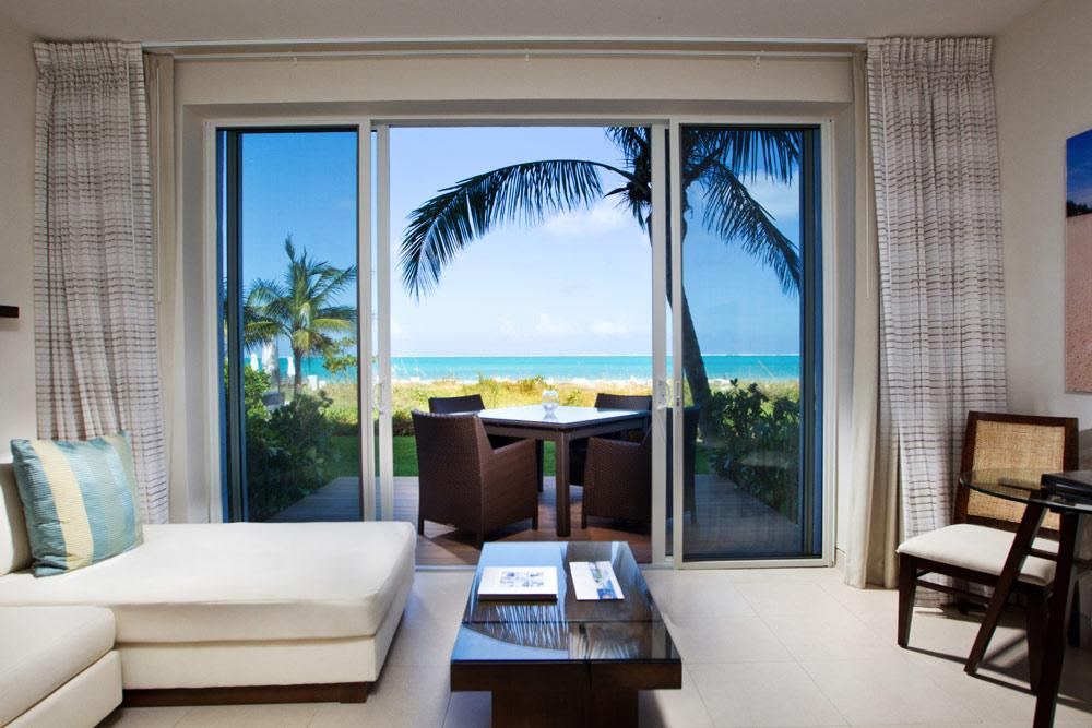 Grand Deluxe Ocean Front Studio Room at Gansevoort Turks and Caicos, Providenciales, Turks & Caicos Islands