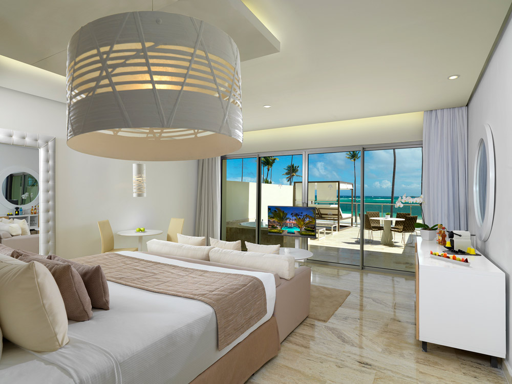 Ocean View Junior Suite at The Reserve at Paradisus Palma RealDominican Republic