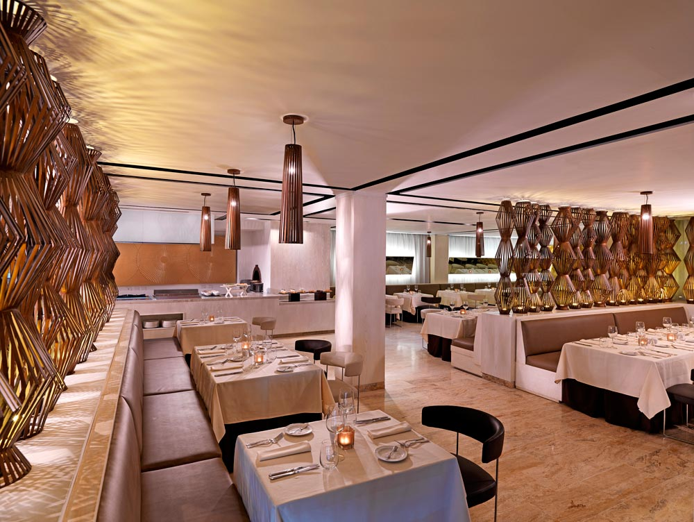 Beach Olio Restaurant at The Reserve at Paradisus Palma RealDominican Republic