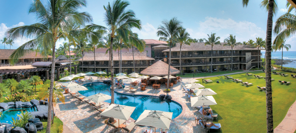 Koa Kea Hotel & Resort at Poipu Beach is a 121-room oceanfront hotel near Kauais southernmost point.