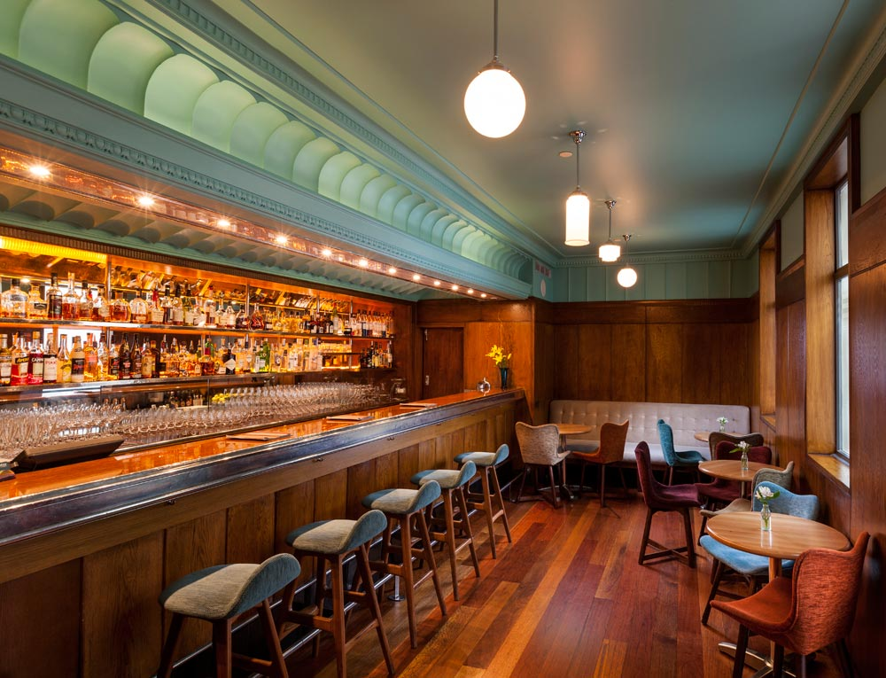 House Bar at Hotel DeBrett Auckland