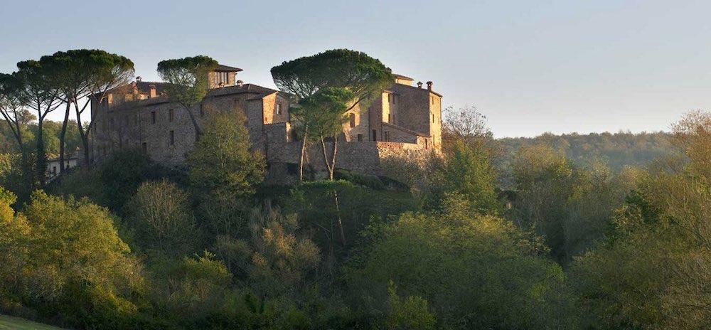 Castel Monastero in SienaItaly