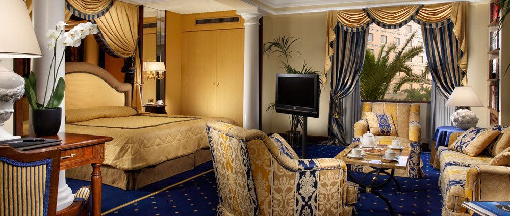 Junior Suite at Royal Olympic Hotel Greece