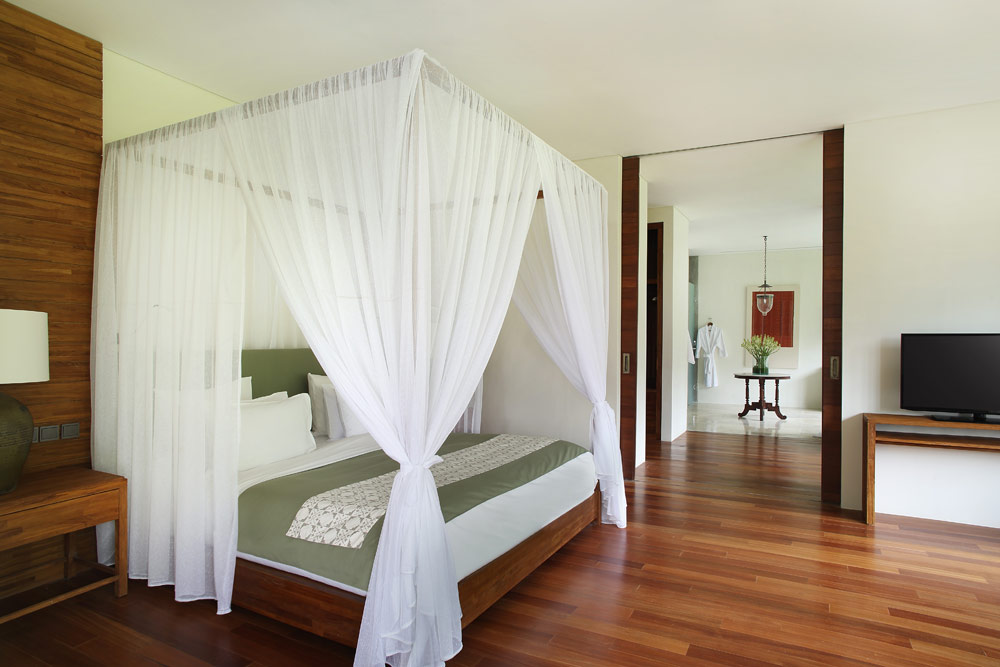 Terrace Tree Villa Bedroom at Alila Ubud