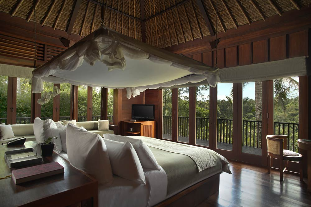 Valley Villa Bedroom at Alila Ubud
