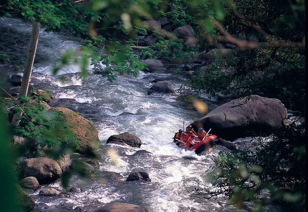 Rafting Experience at Alila Ubud