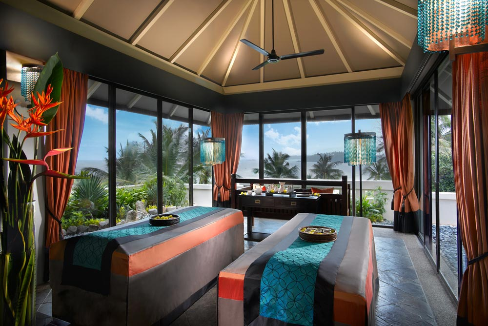 Stop by the spa at Angsana Resort BintanIndonesia