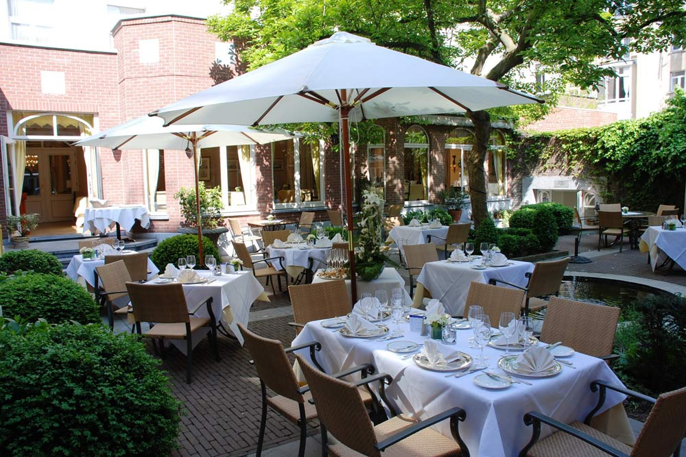 Garden of the Brighton Restaurant at Stanhope HotelBrusselsBelgium
