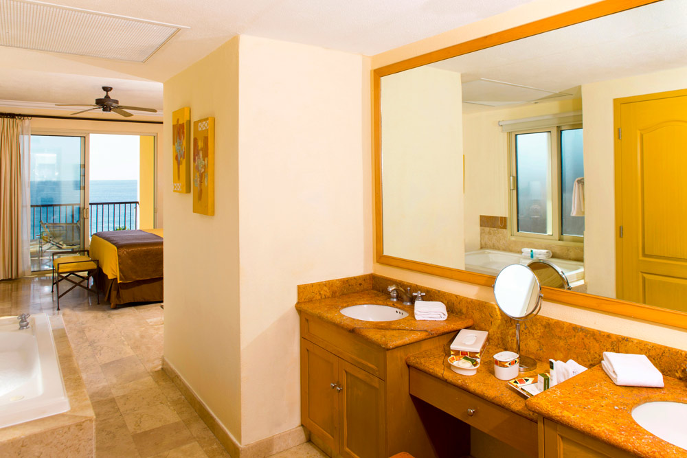 One Bedroom Suite Bath at Villa Del Arco Beach Resort And Grand SpaCabo San Lucas