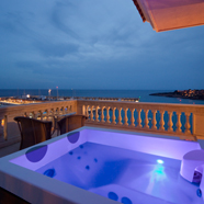 City View Jacuzzi at Port Adriano Marina Golf and SpaSpain