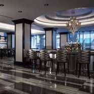 Bar and Library at The Silversmith Hotel And Suites, ChicagoIL