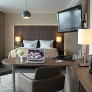 Junior Suite Guestroom at Lindner Hotel Dom ResidenceGermany