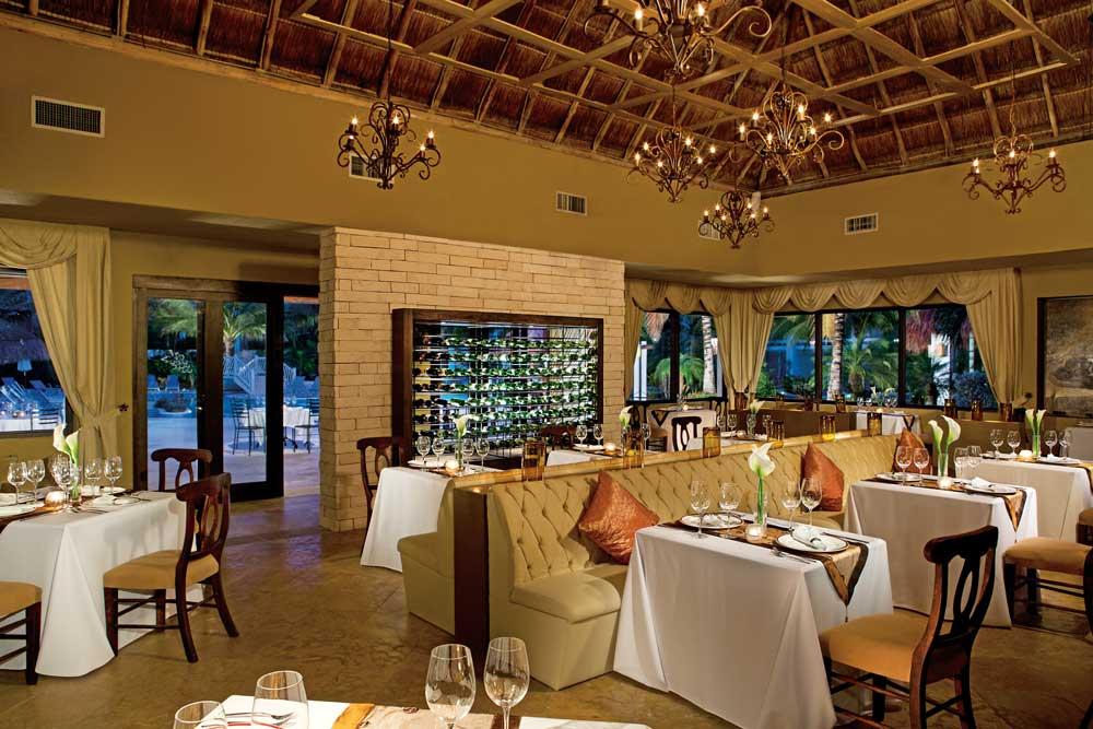 Dining at Aura Cozumel Grand Resort