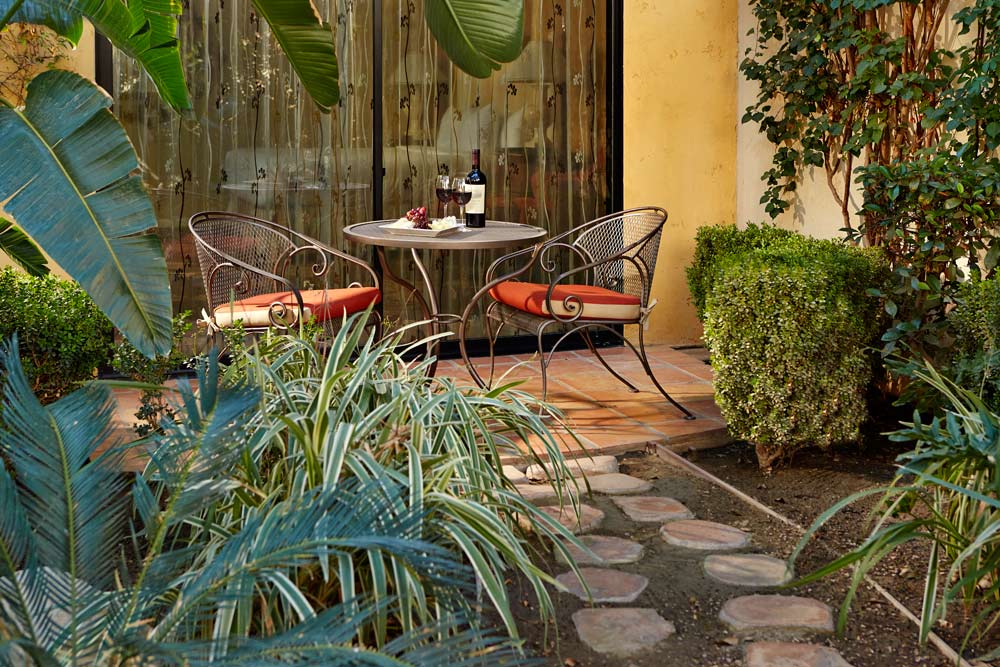 Private Patio Area at Miramonte Resort and Spa, Indian Wells, CA