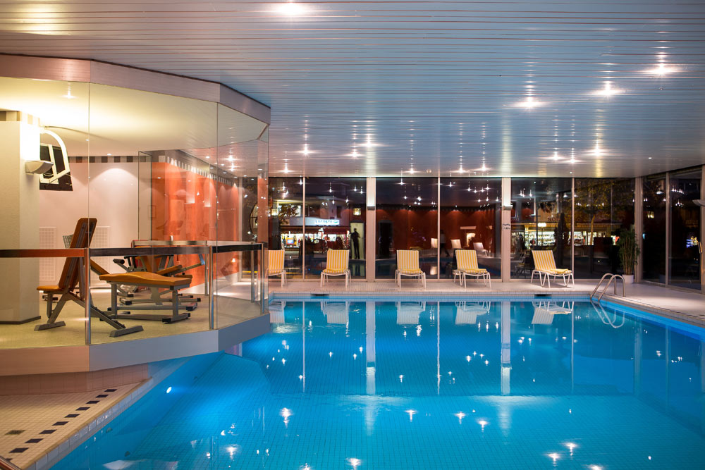 Spa and Pool at Lindner Grandhotel Beau RivageSwitzerland