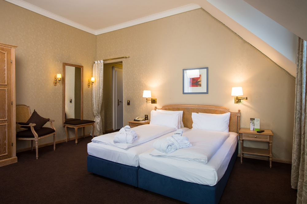 Double Guestroom at Lindner Grandhotel Beau RivageSwitzerland