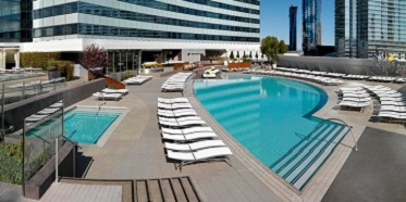 Vdara Hotel and Spa Pool Area