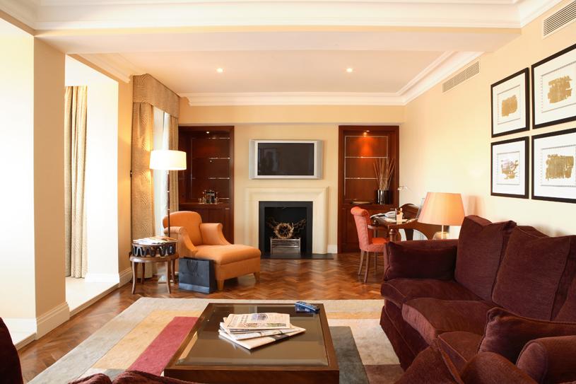The Westbury London Penthouse Living Area
