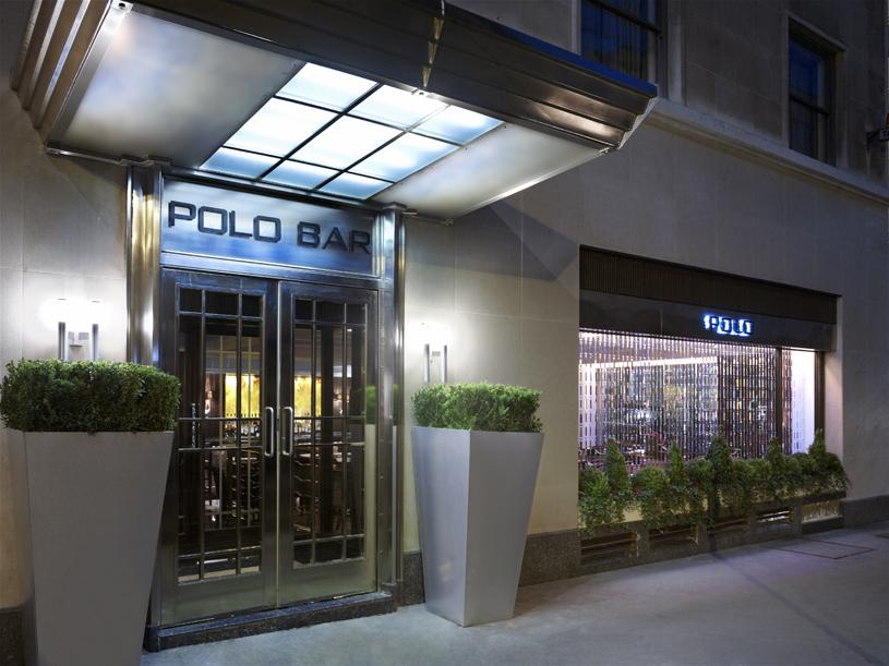 The Westbury London Polo Bar Outside