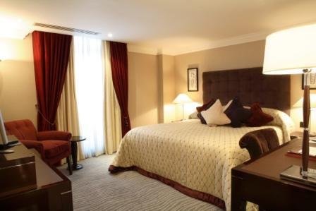The Westbury London Deluxe Suite Bedroom