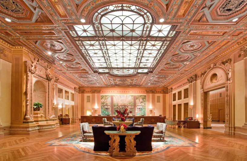 Lobby Area of The Millennium Biltmore Los Angeles