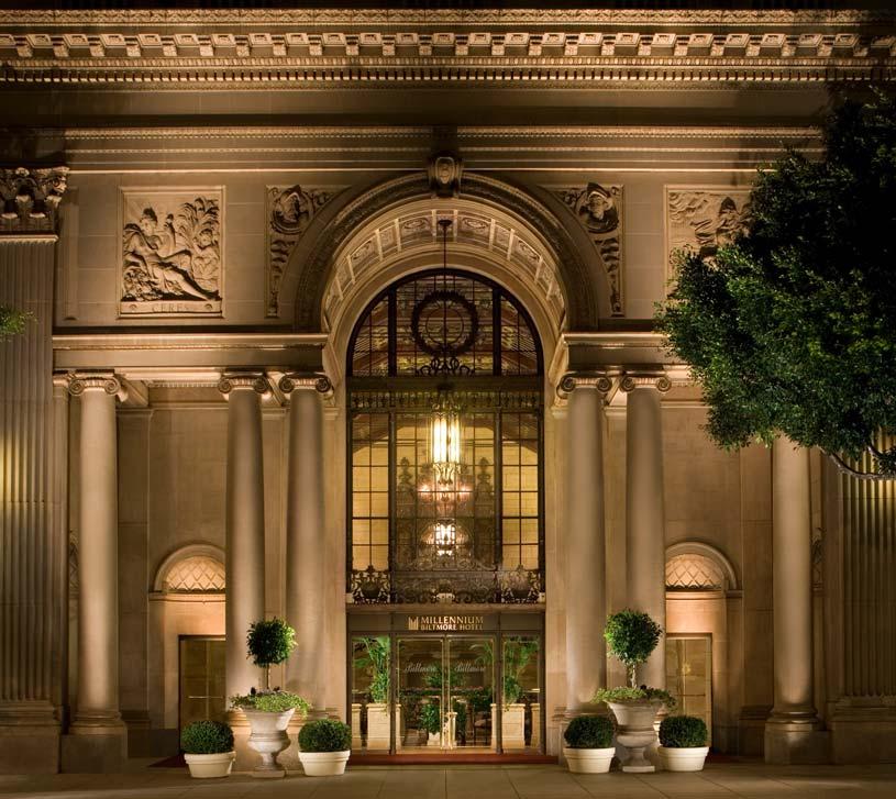 Exterior of The Millennium Biltmore Los Angeles Hotel