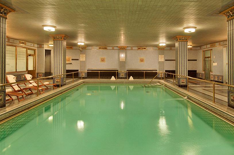 Indoor Pool at The Millennium Biltmore Los Angeles