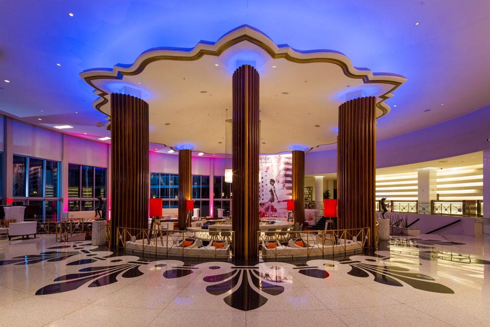 Lobby at Eden Roc Miami Beach