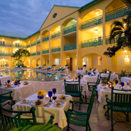 Pool Side Dining at Sandals CarlyleMontego BayJamaica