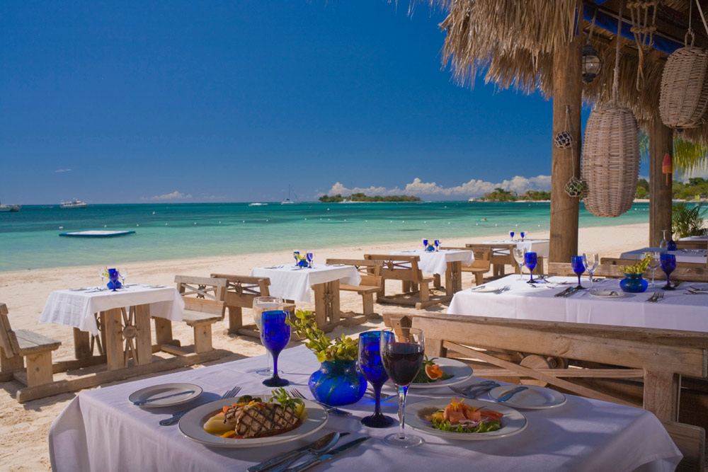 Dining Venue at Sandals Negril Beach Resort and SpaNegrilJamaica