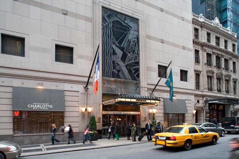 Exterior of Millennium Broadway Hotel