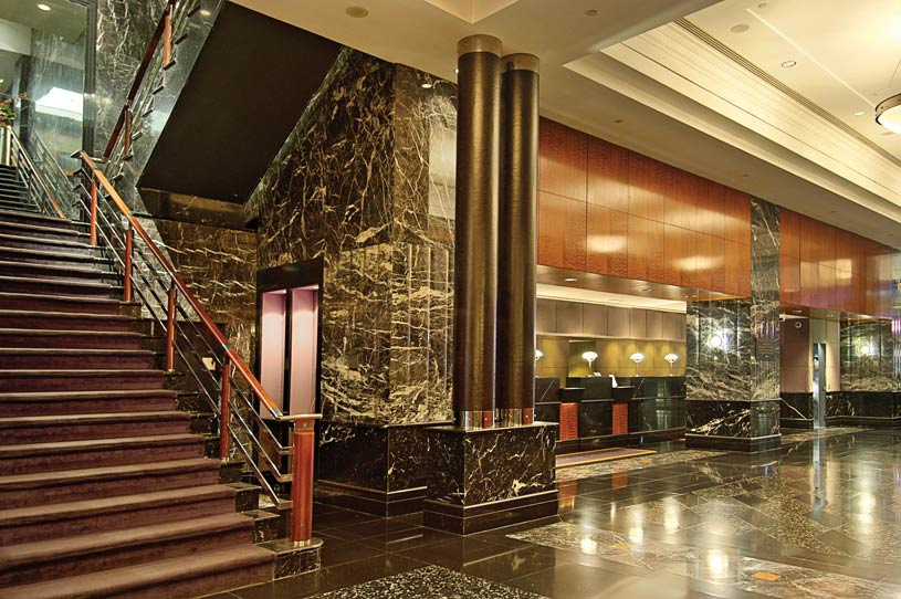 Lobby Area of The Millennium Broadway Hotel