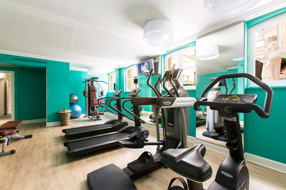 Fitness Center at Castille Paris