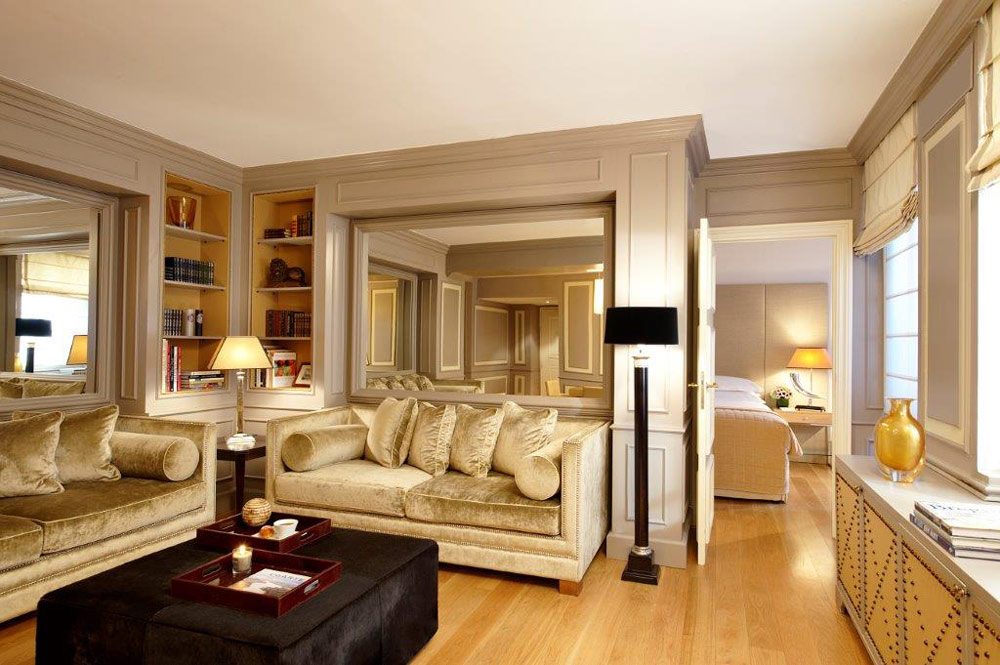 Living Room Apartment at Castille Paris