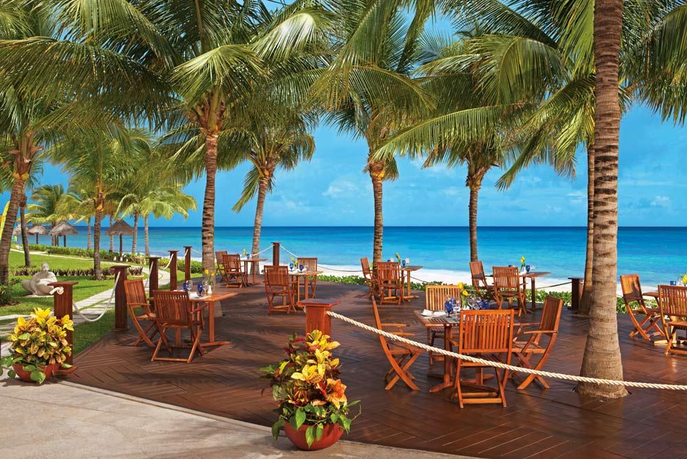Ceviche & Taco Bar of Cactus Club Dining at Secrets Capri Riviera Cancun in Playa Del CarmenMexico