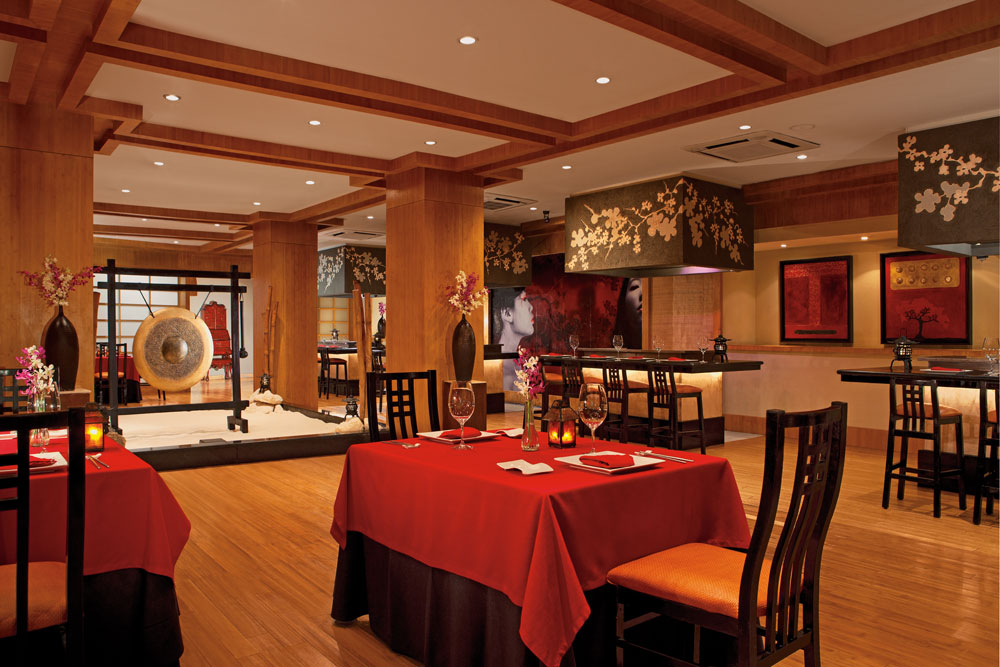 Himitsu Restaurant at Secrets Capri Riviera Cancun in Playa Del CarmenMexico