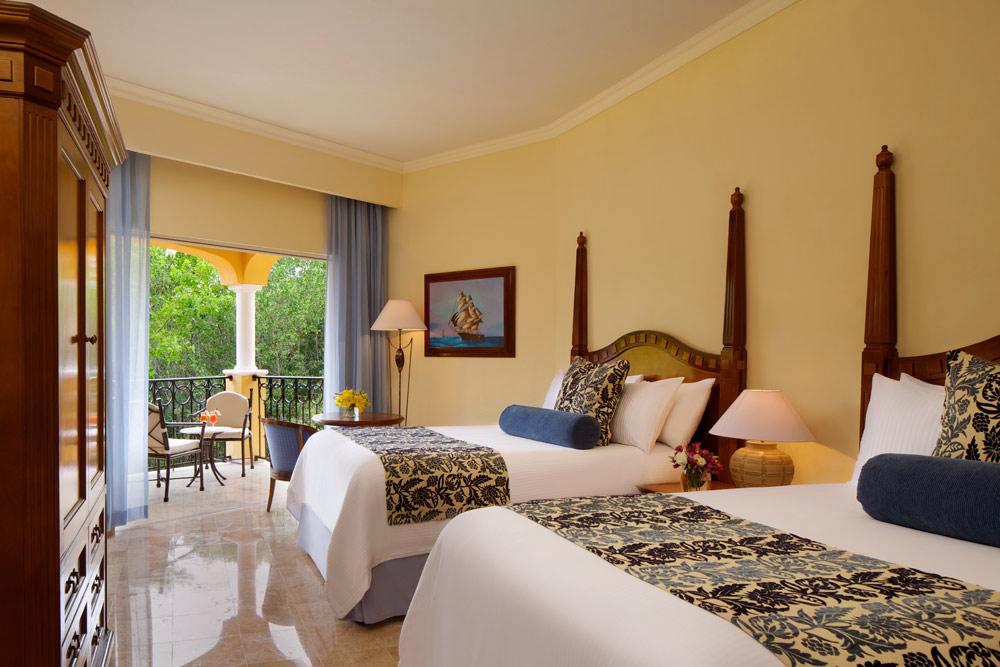 Preferred Club Deluxe Tropical View Doubles at Secrets Capri Riviera Cancun in Playa Del CarmenMexico