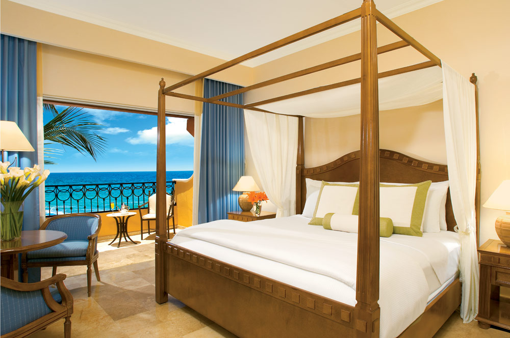 Deluxe Room with Ocean View or Tropical View at Secrets Capri Riviera Cancun in Playa Del CarmenMexico