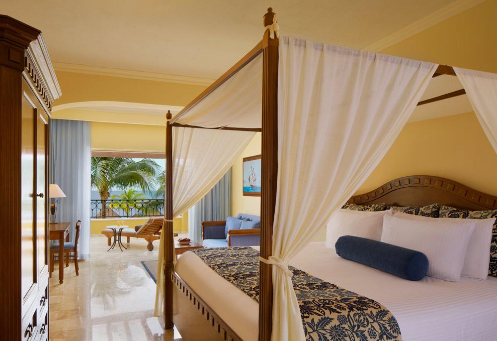 Preferred Club Junior Suite Ocean FrontKing at Secrets Capri Riviera Cancun in Playa Del CarmenMexico