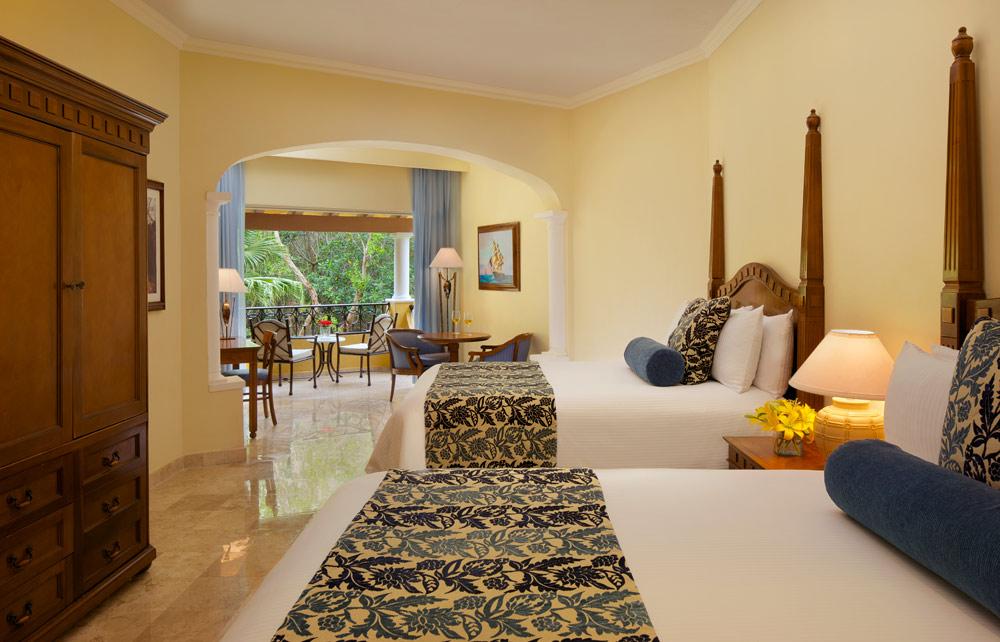 Preferred Club Junior Suite Tropical View Doubles at Secrets Capri Riviera Cancun in Playa Del CarmenMexico